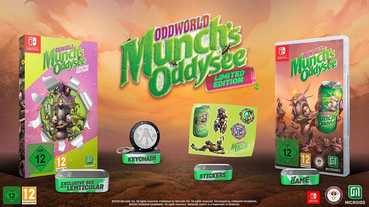 Bon Plan : Edition limited de Oddworld Munch's Oddyssee sur Switch à 25,40 euros (au lieu de 39,99...)