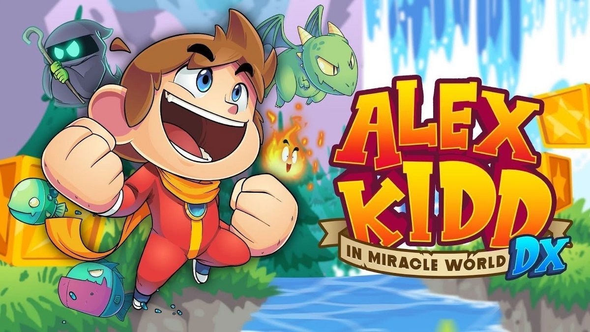 Alex Kidd in the Miracle World DX : Le retour de la franchise !
