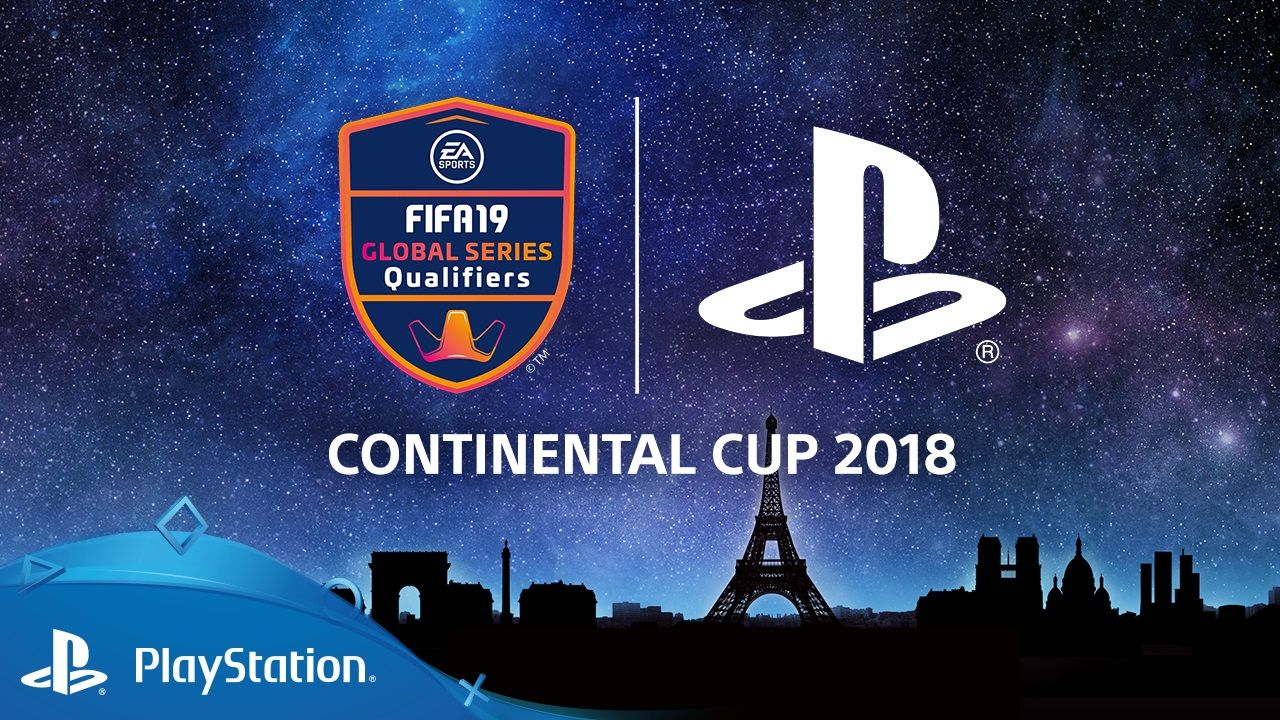 FIFA 19 : Les informations de la Continental Cup 2018 présentée par PlayStation à la Paris Games Week
