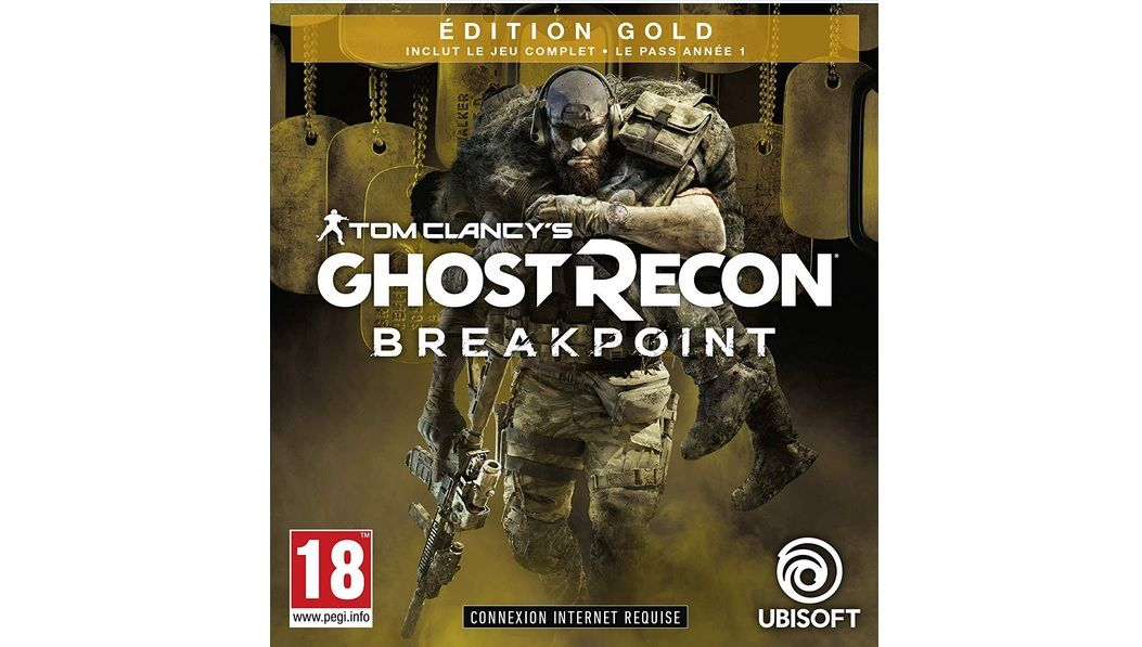 Bon Plan : Edition GOLD de Ghost Recon Breakpoint sur Xbox One et PS4 à 40,99 euros (au lieu de 99,99...)