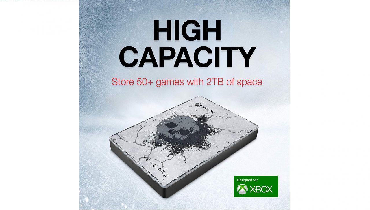 Notre sélection Gamer du jour : Disque Dur Seagate pour Xbox de 2 To - Gears 5 Special Edition !