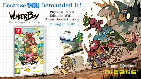 Bon Plan : Wonder Boy The Dragon's Trap sur Switch à 18,54 euros (au lieu de 39,99...)