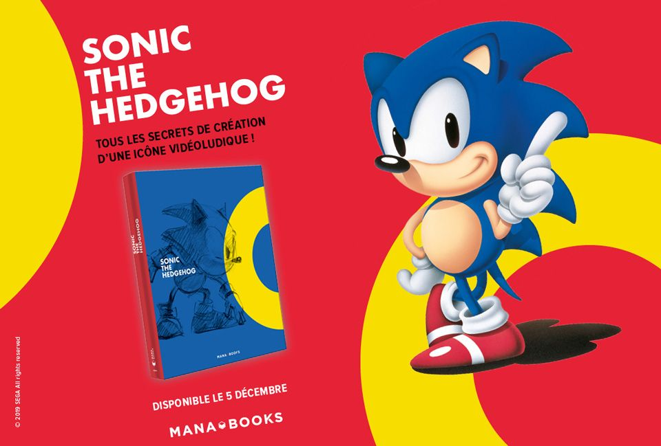 Précommande : Sonic the Hedgehog – artbook (français)