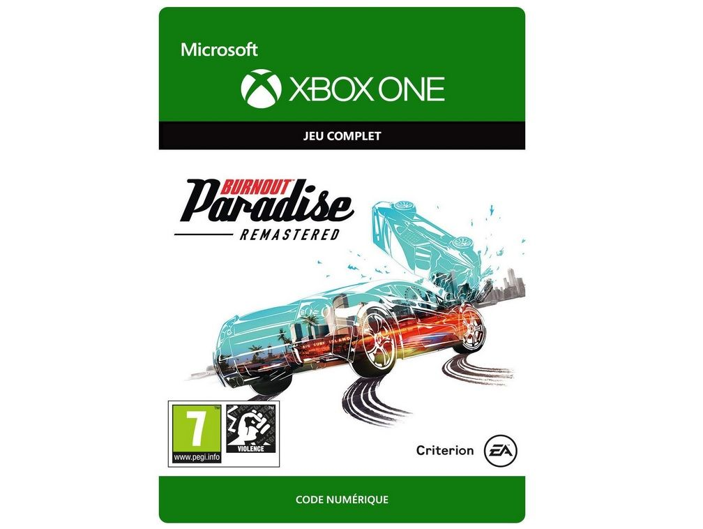 [DEAL NOEL] Burnout Paradise Remastered sur Xbox One à 5 euros (au lieu de 29,99...)