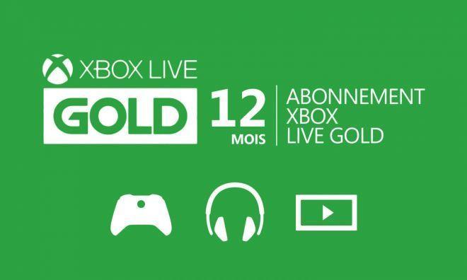 Bon Plan : Abonnement Xbox Live Gold 12 mois à 44,99 euros (au lieu de 59,99...)