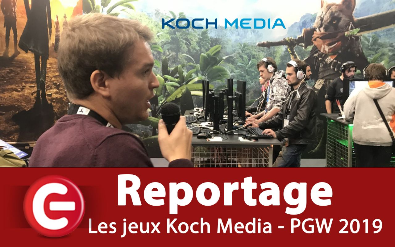 PGW 2019 : Les jeux du stand Koch Media (Fairy Tail, Biomutant, Darksiders Genesis, Desperados III...) !