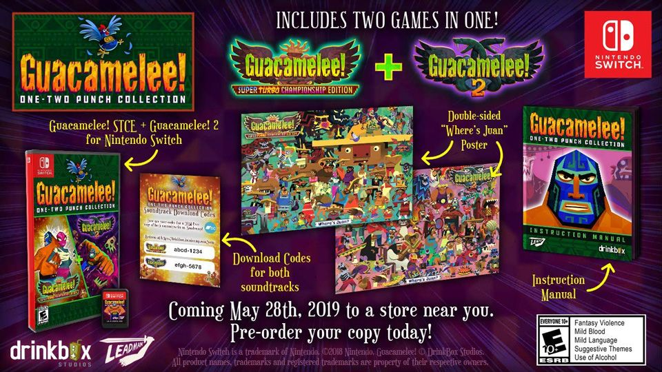 Notre SELECTION du jour : Guacamelee! One-Two Punch Collection sur Switch - 26/03