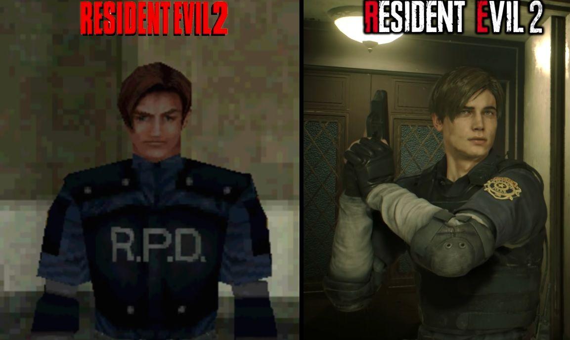 Resident Evil 2 : Comparaison graphique entre la version originale et le remake !