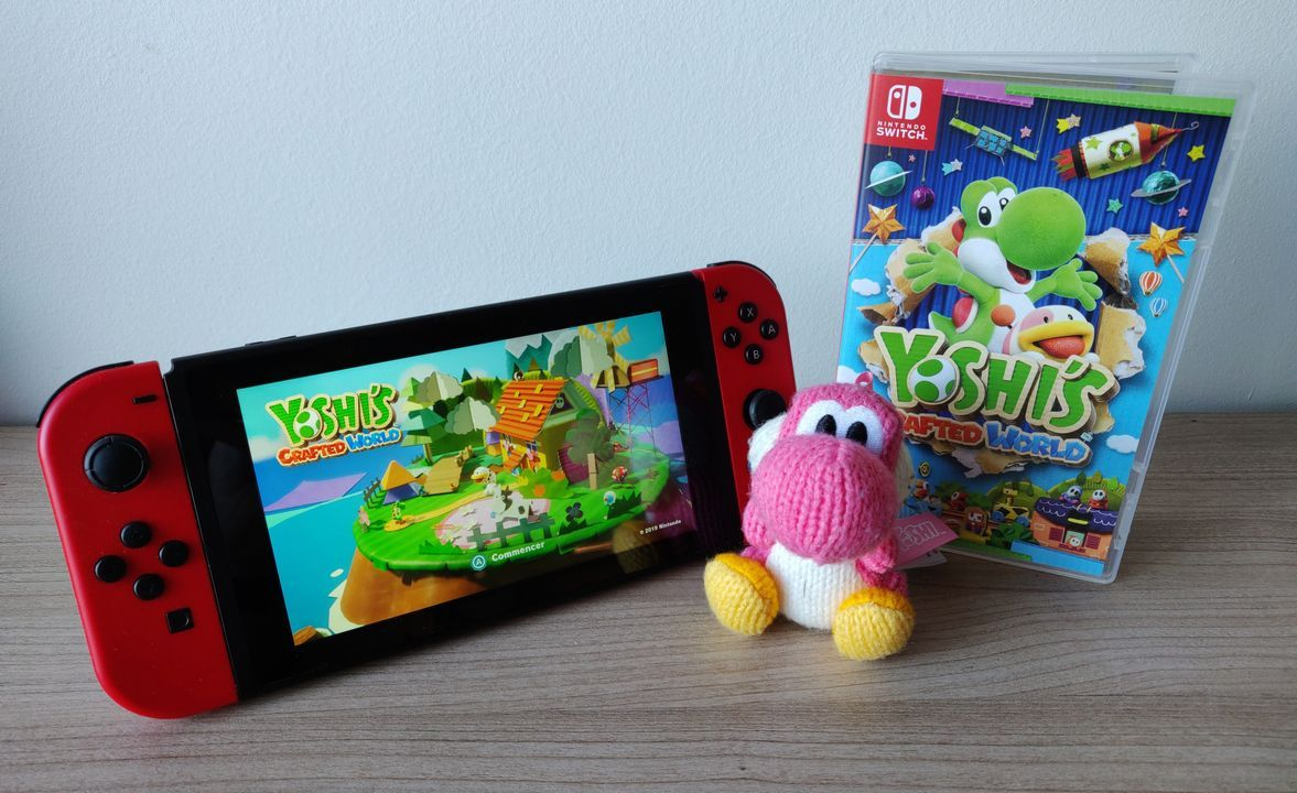 Bon Plan : Yoshi's Crafted World sur Nintendo Switch à 32,19 euros (au lieu de 64,99...)