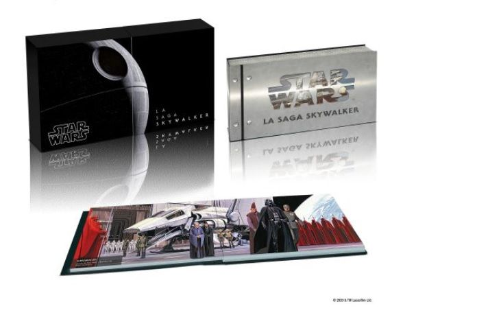 PRECOMMANDE : Coffret Blu-ray 4K de la saga complète de Star Wars The Skywalker