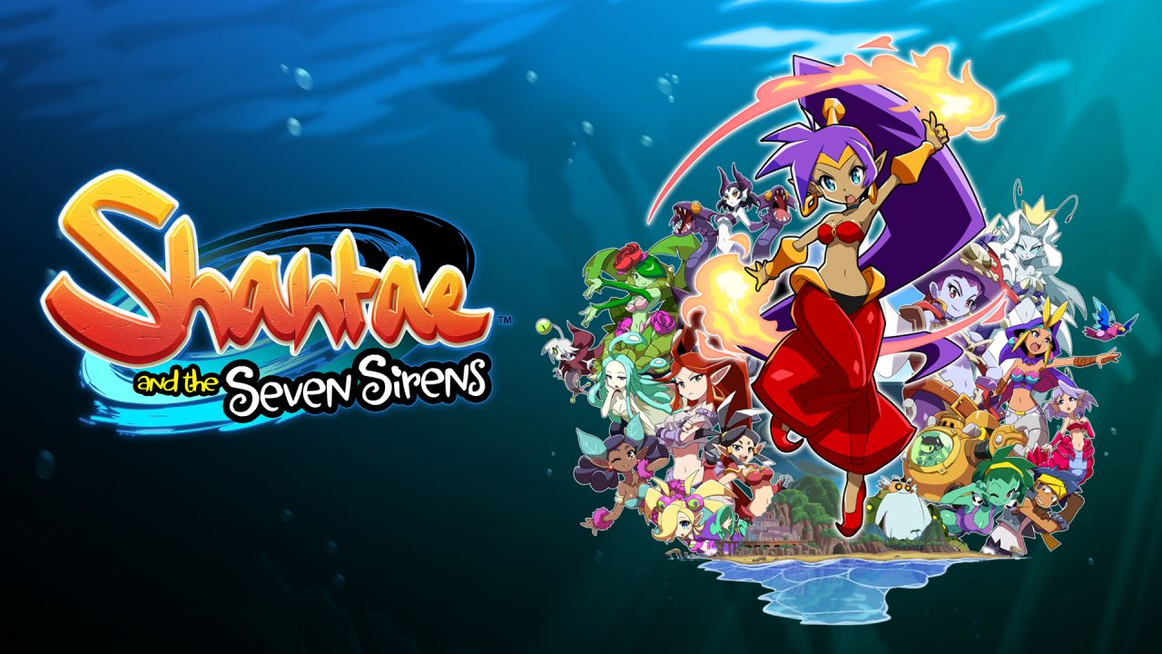 Shantae and the Seven Sirens : Désormais disponible sur PS4, Xbox One et PC !