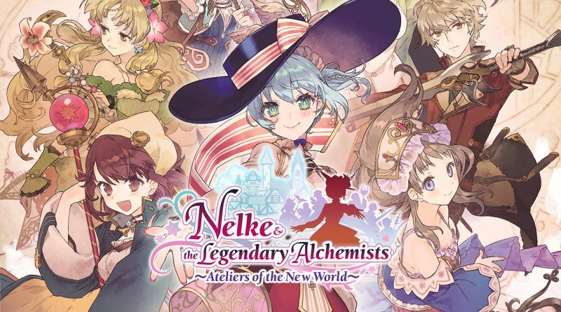 Nelke and the Legendary Alchemists : Ateliers of the New World : Annoncé en Occident !