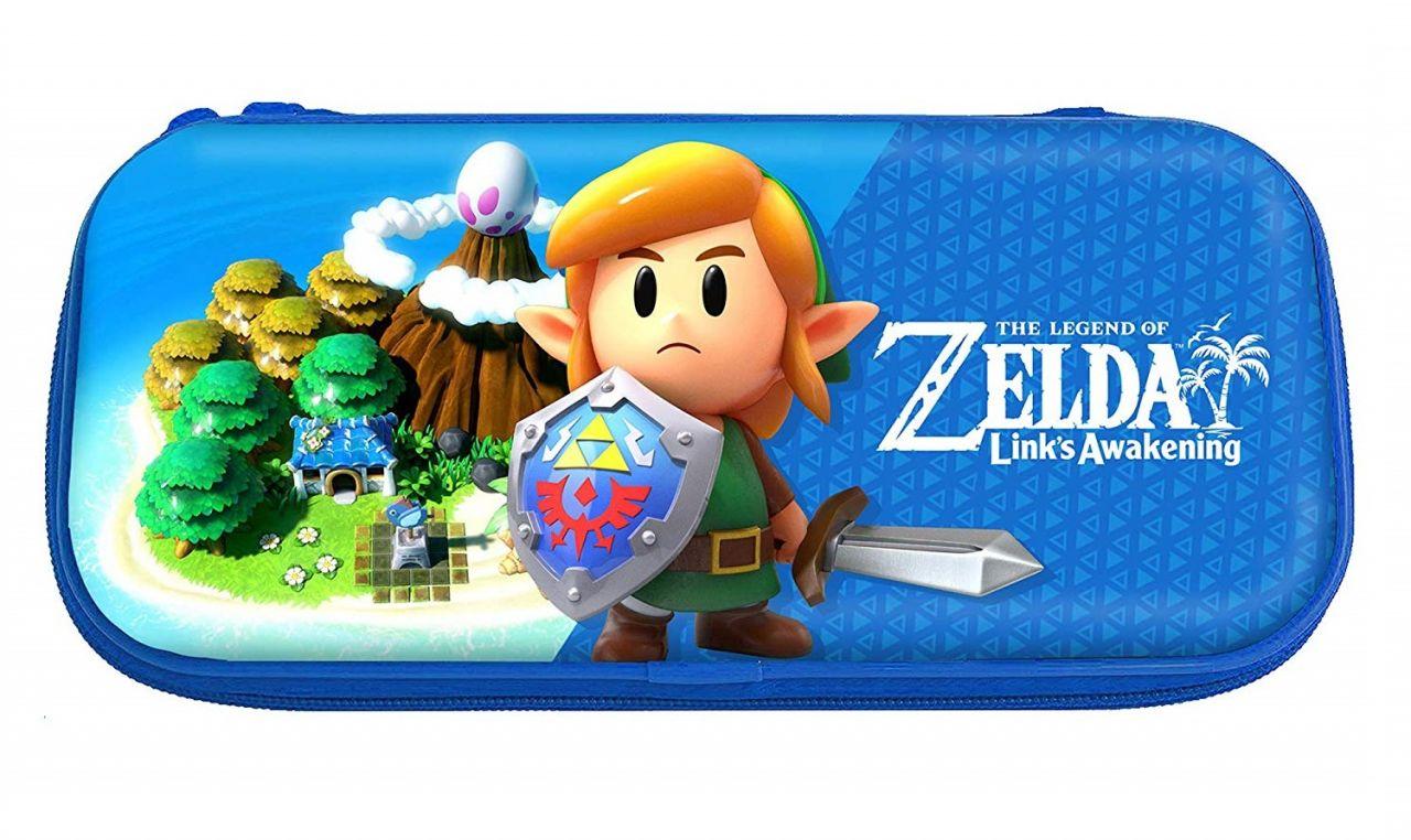 Notre séction JV du jour : Pochette rigide pour Nintendo Switch - Zelda: Link's Awakening - 19/09
