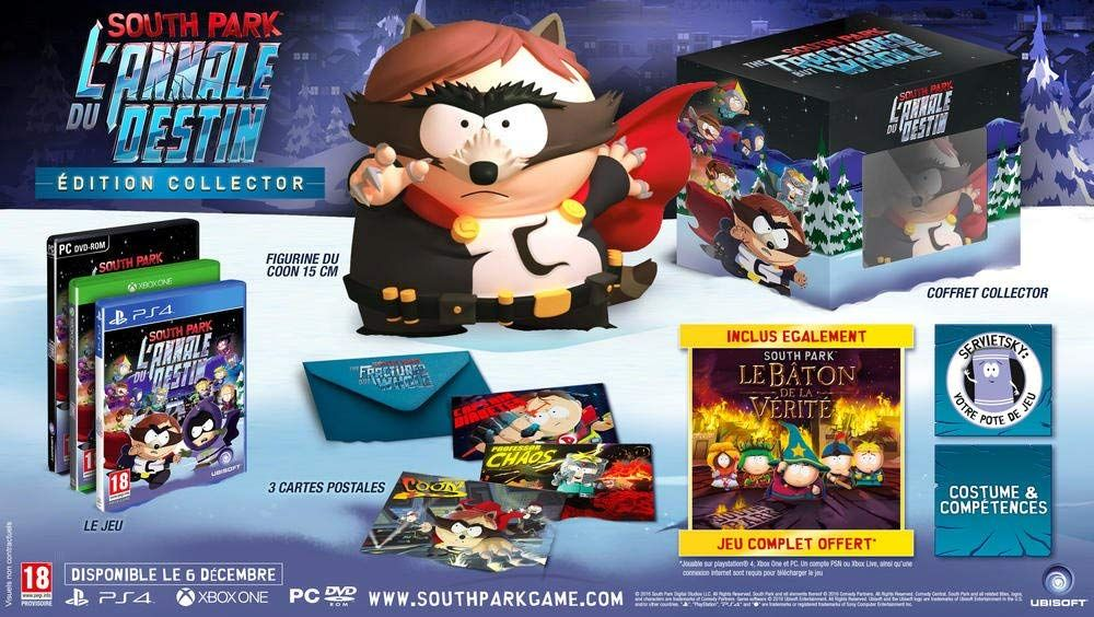 Bon Plan : L'édition Collector de South Park L'annale du destin à 29,99 euros (au lieu de 99,99...)