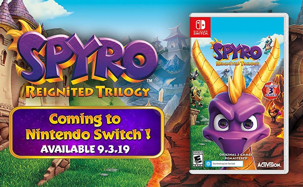 Bon Plan : Spyro Reignited Trilogy sur Switch à 29,49 euros (au lieu de 39,99...)