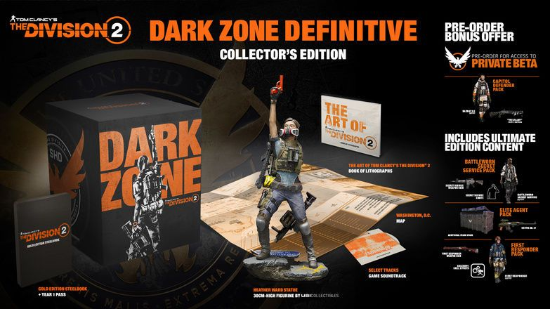 Bon Plan : L'édition collector de The Division 2 à 59,99 euros (au lieu de 119,99...)