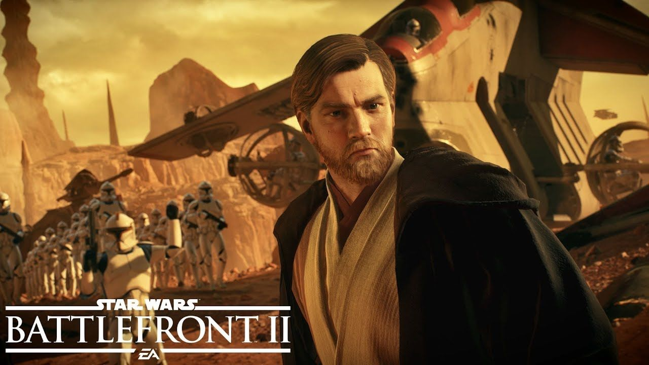 Star Wars Battlefront II : Le trailer officiel de Battle of Geonosis