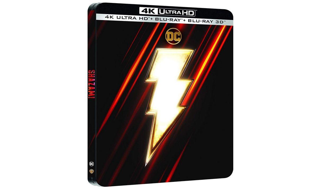 Bon Plan : Shazam en Blu-Ray 4K édition Steelbook à 22,12 euros (au lieu de 35...)