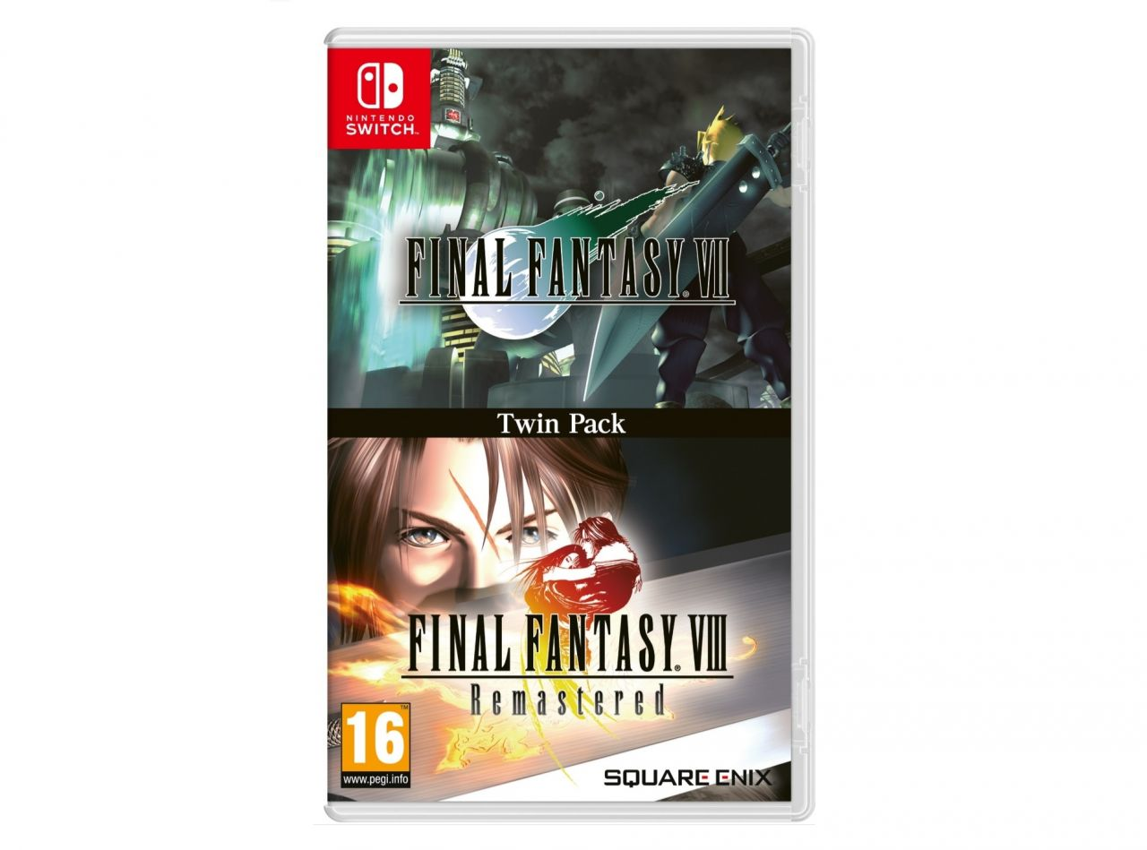Précommande : Version physique de Final Fantasy VII et VIII sur Nintendo Switch à 35,99 euros !