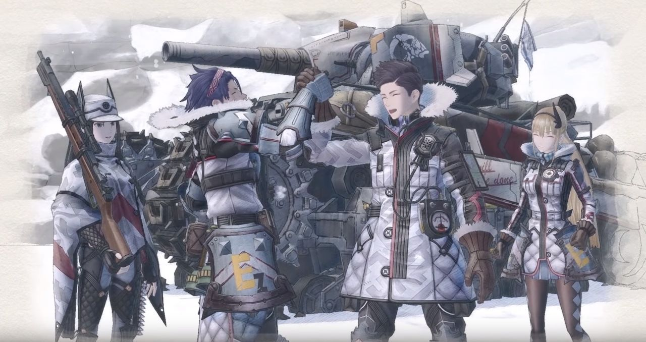 Valkyria Chronicles 4 : Cinématique d'introduction