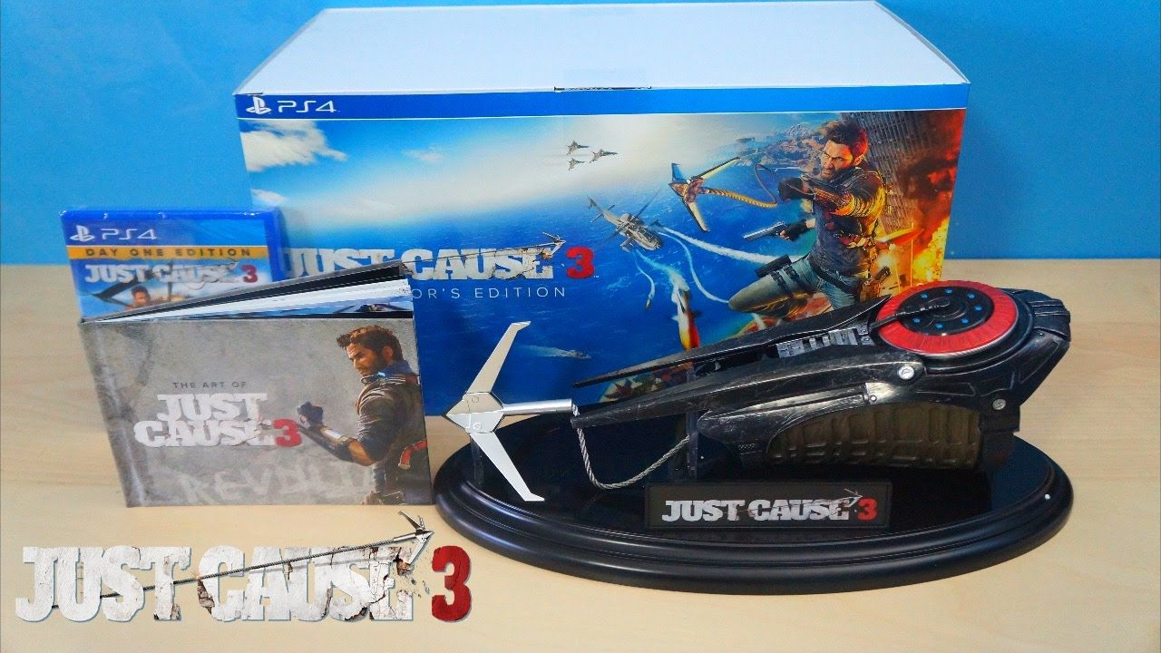 Bon Plan : L'édition collector de Just Cause 3 sur PS4 à 24,04 euros (au lieu de 99...)