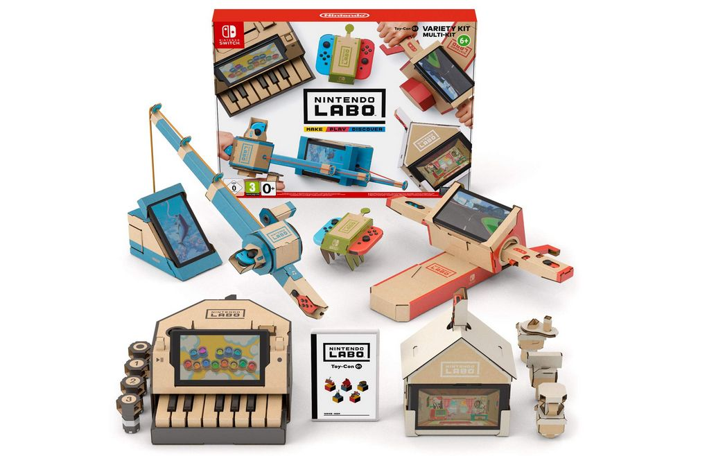 Bon Plan : Nintendo Labo - Multi Kit sur Switch à 22 euros (au lieu de 69,99...)