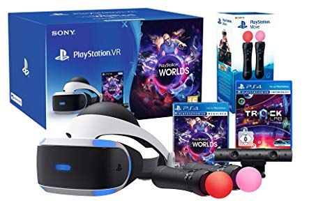 Bon Plan : PlayStation VR V2 + PlayStation Caméra + VR Worlds + Paire de PlayStation Move à 229,99 euros