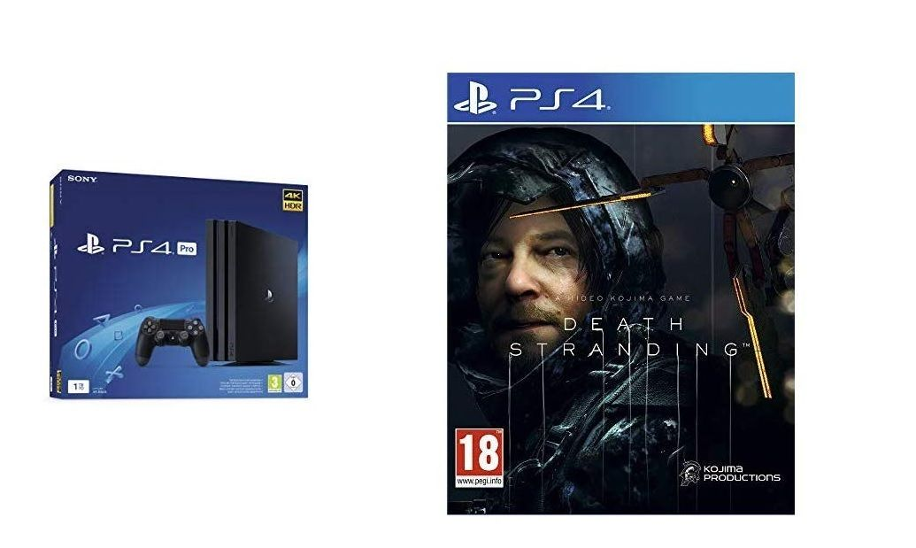 Bon Plan : PS4 Pro 1 To + Death Stranding à 299,99 euros (au lieu de 439,99...)