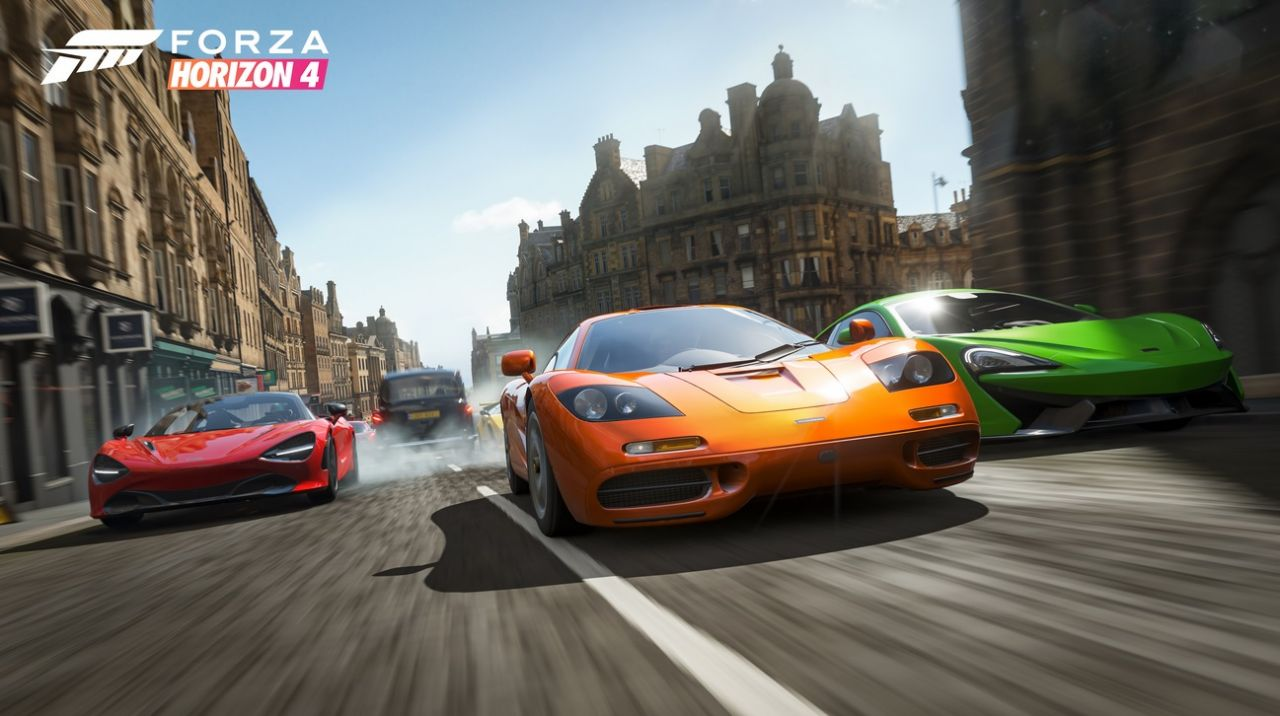 Gamescom 2018 : Forza Horizon 4, avec du gameplay multijoueur !