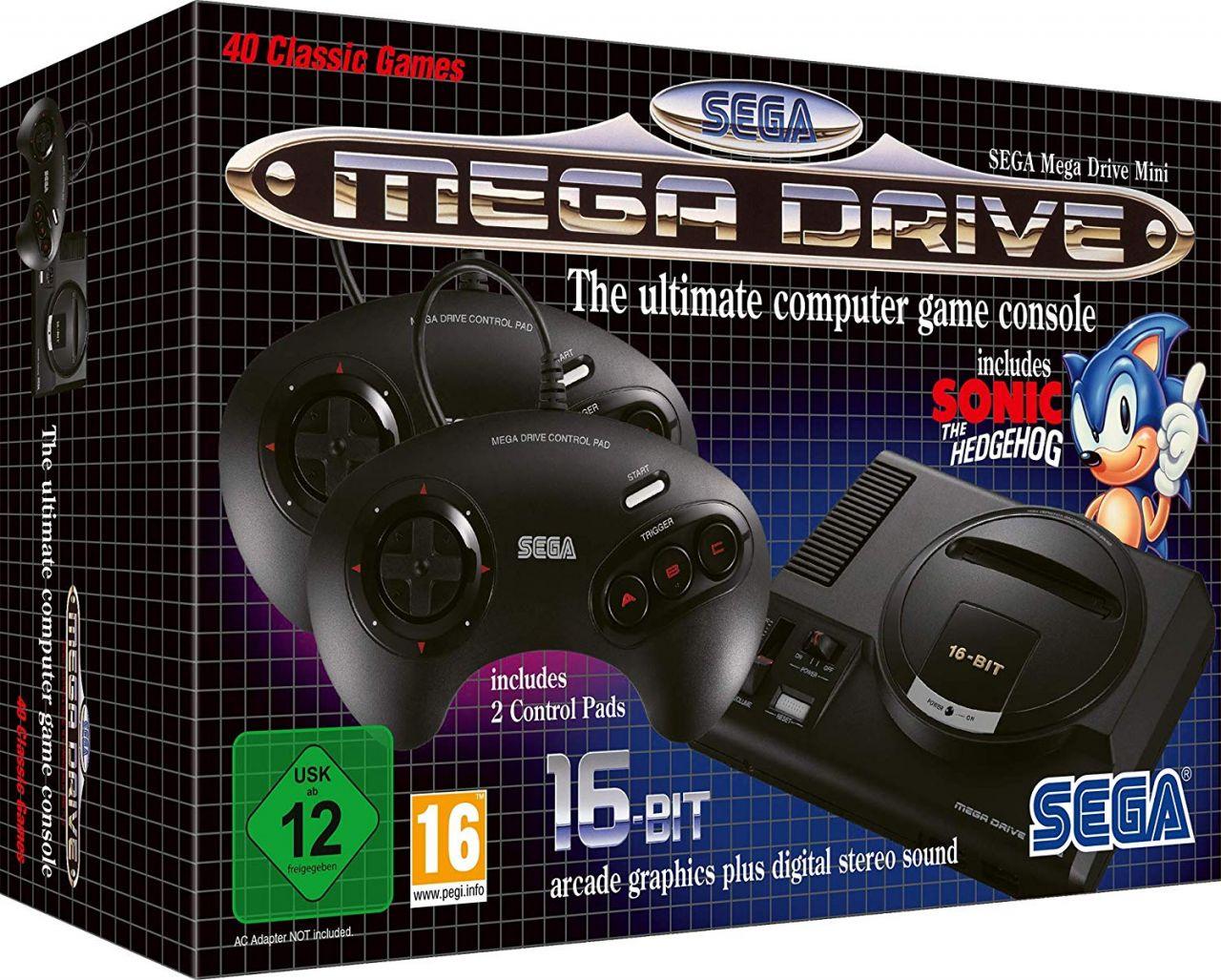 Bon Plan AMAZON : Sega Mega Drive Mini à 59,99 euros (au lieu de 79,99...)