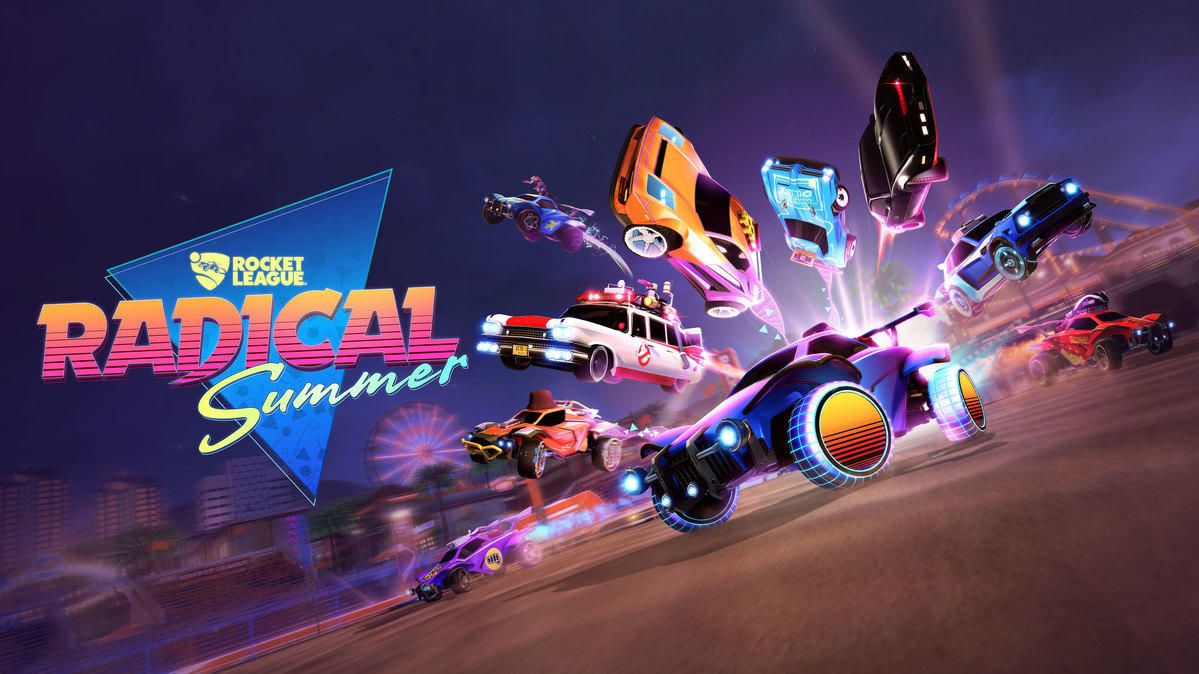 Rocket League annonce le Radical Summer