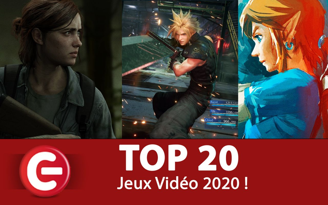 Le TOP 20 des jeux vidéo les plus attendus de 2020 - ConsoleFun.FR