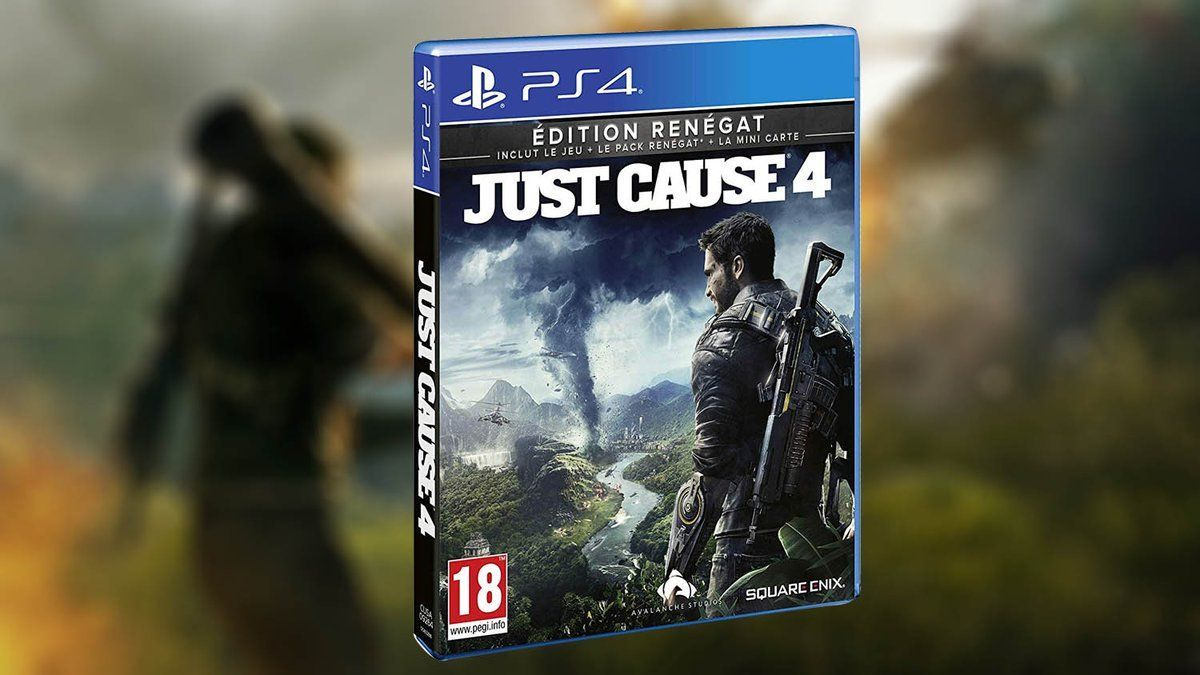 Bon Plan AMAZON : Just Cause 4 édition Renégat à 23,99 euros (au lieu de 69,99...)