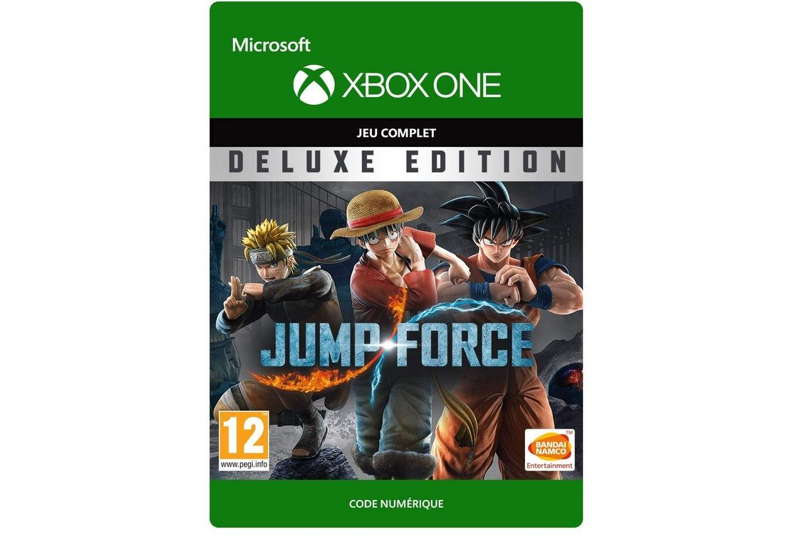 Bon Plan : Jump Force Deluxe Edition Xbox One à 39,99 euros (au lieu de 99,99...)