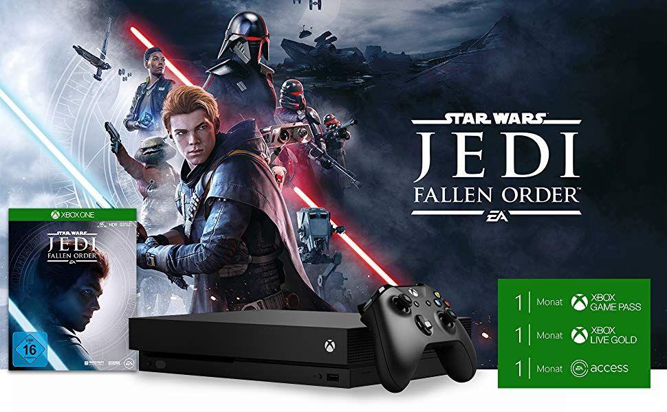 [BURN] Bon Plan : Xbox One X + Star Wars jedi Fallen Order + 1 mois Xbox Game Pass Ultimate à 215,51 euros !