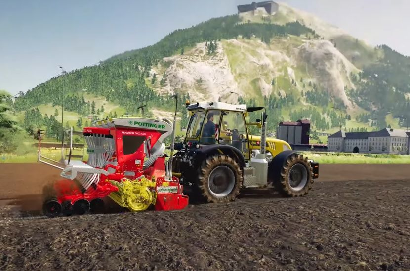 Farming Simulator 19 : Nouveau trailer de gameplay pour l'extension Alpine Farming