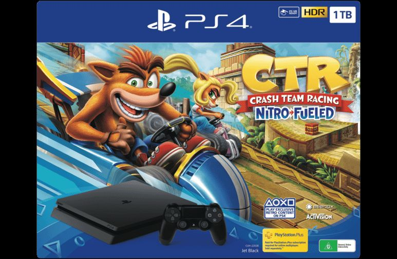Bon Plan : PS4 Slim 1 To avec Crash Team Racing + 2ème manette + Detroit Become Human à 299,99 euros