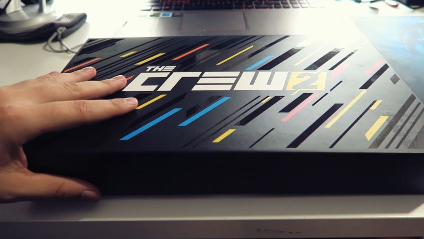 Unboxing : La 'Motor Edition' de The Crew 2...exclusive au store de Ubisoft !