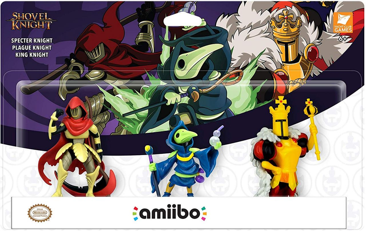 Notre SELECTION du jour : Shovel Knight: Treasure Trove - Amiibo 3-Pack - 30/01/20
