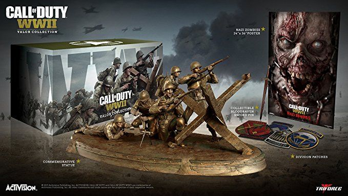 Bon Plan : Coffret 'Valor Collection Triforce Statue' de Call of Duty WWII à 34.99€ (au lieu de 139...)