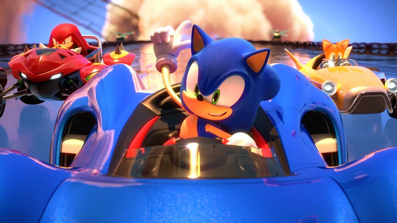 Team Sonic Racing : On connait le lineup de la quatrième équipe !