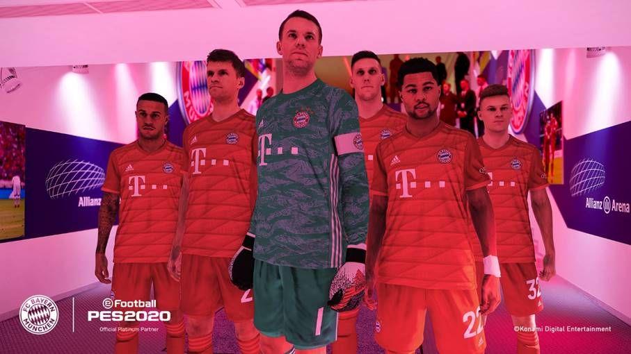 eFootball PES 2020: Le Bayern Munich devient partenaire officiel