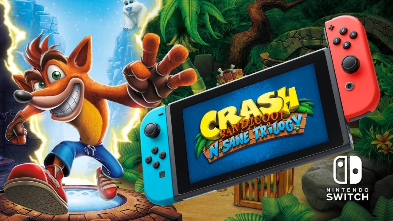 Bon Plan : Crash Bandicoot N.Sane Trilogy sur Switch à 26 euros (au lieu de 49,99...)