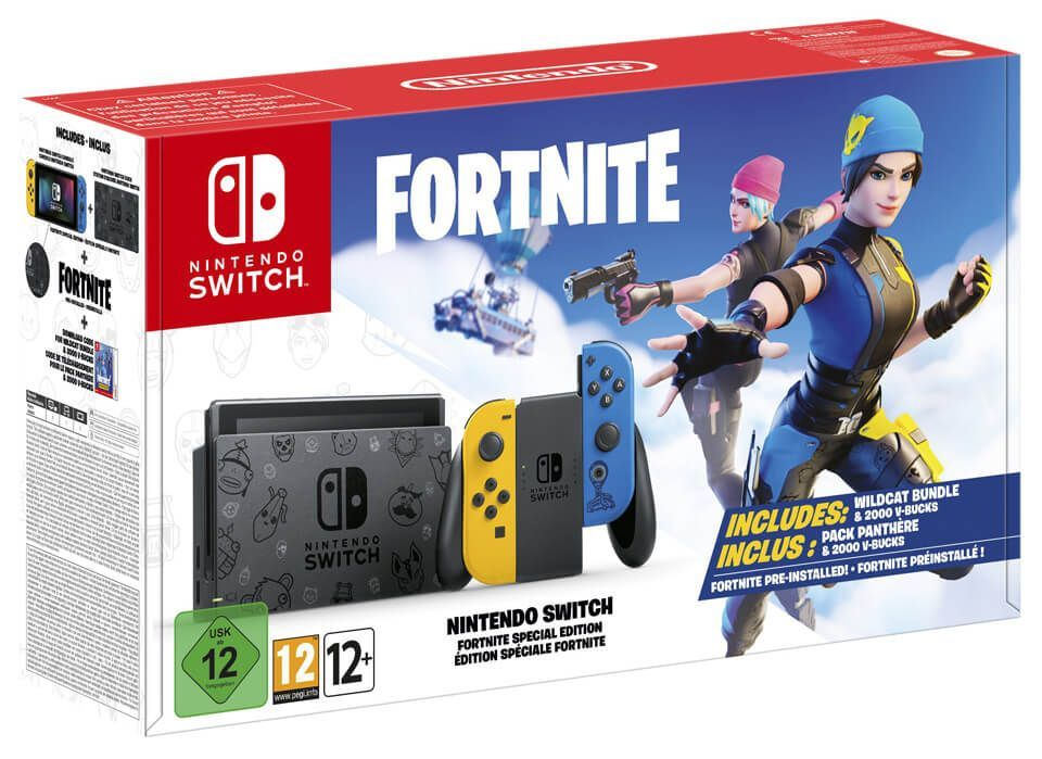 [EDIT] Précommande : La Nintendo Switch spéciale FORTNITE !!!! - Limited Edition