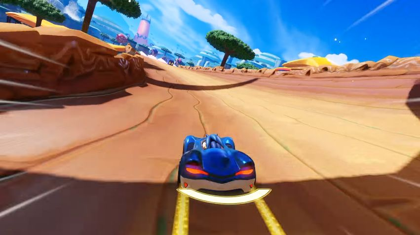 Team Sonic Racing : Vidéo de gameplay, et images