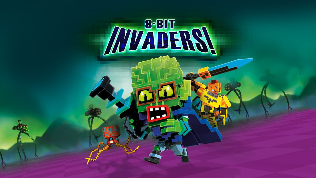 8-Bit Invaders : Le trailer de lancement !