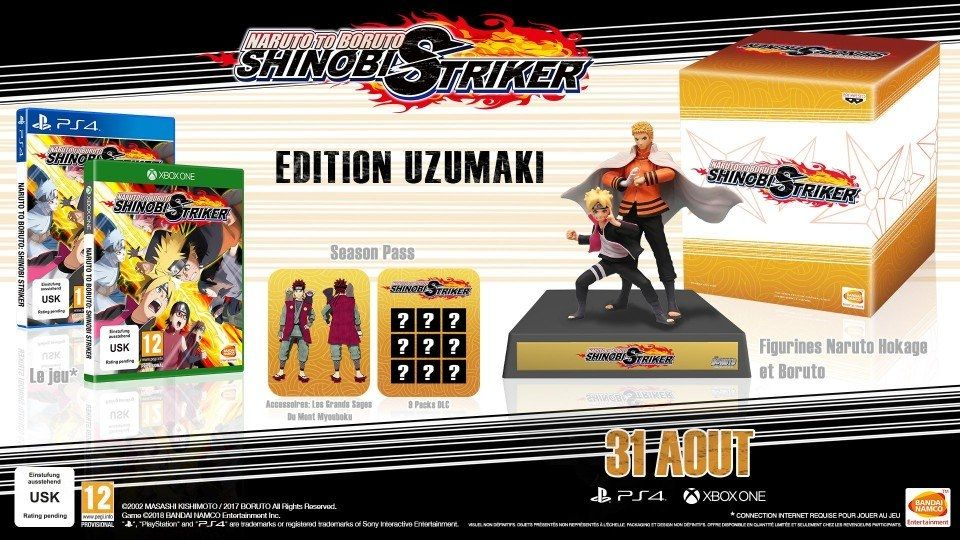 Bon Plan : L'édition collector de Naruto to Boruto Shinobi Striker sur Xbox One à 39,99 euros (au lieu de 119,99)