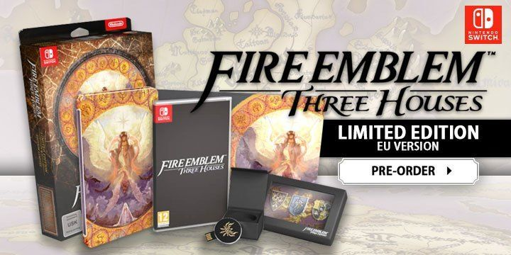 [STOCK FLASH] Fire Emblem Three Houses édition limitée sur Switch !
