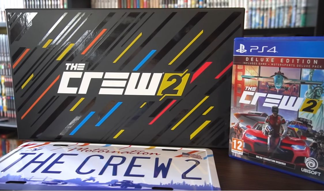 Bon Plan : L'édition Collector de The Crew 2 en boutique Ubisoft à 54,99 euros (au lieu de 109,99...)