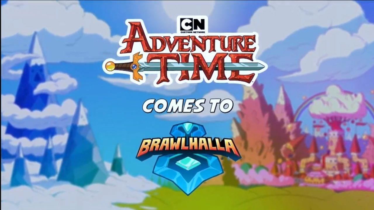 Brawhalla voit arriver les héros d'Adventure Time